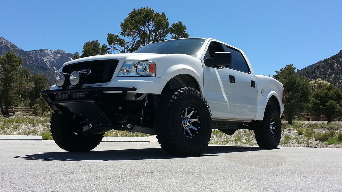 It should handle well on and off road as our kit for 04 08 f150s handles very well