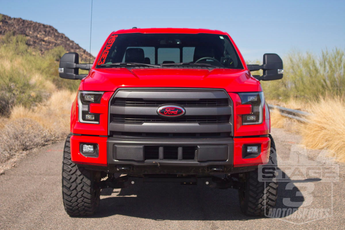Stage3Motorsports 2015 F150 FX4 Race Red Crew Cab
