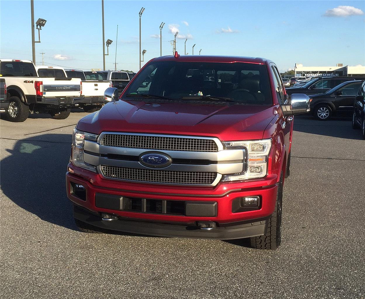2018 Platinum In Ruby Red Ford F150 Forum Community