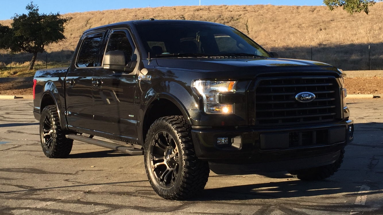 F150 Platinum With Leveling Kit >> Rough Country Leveling Kit and Tire ideas - Page 5 - Ford F150 Forum - Community of Ford Truck Fans