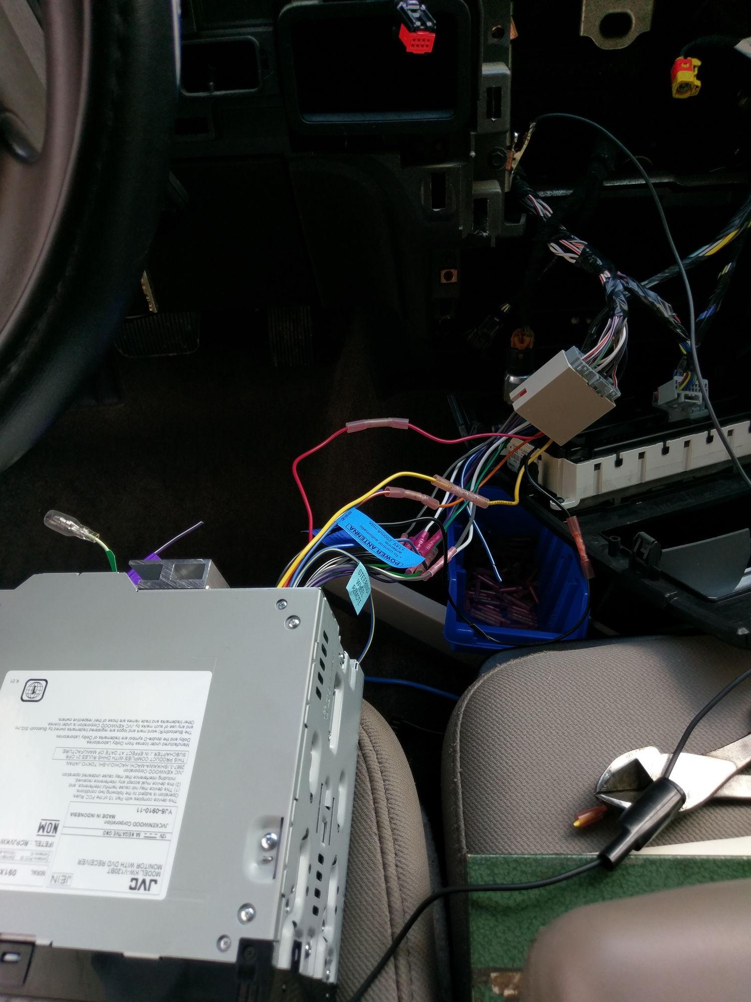 Aftermarket radio install no power - Ford F150 Forum ...