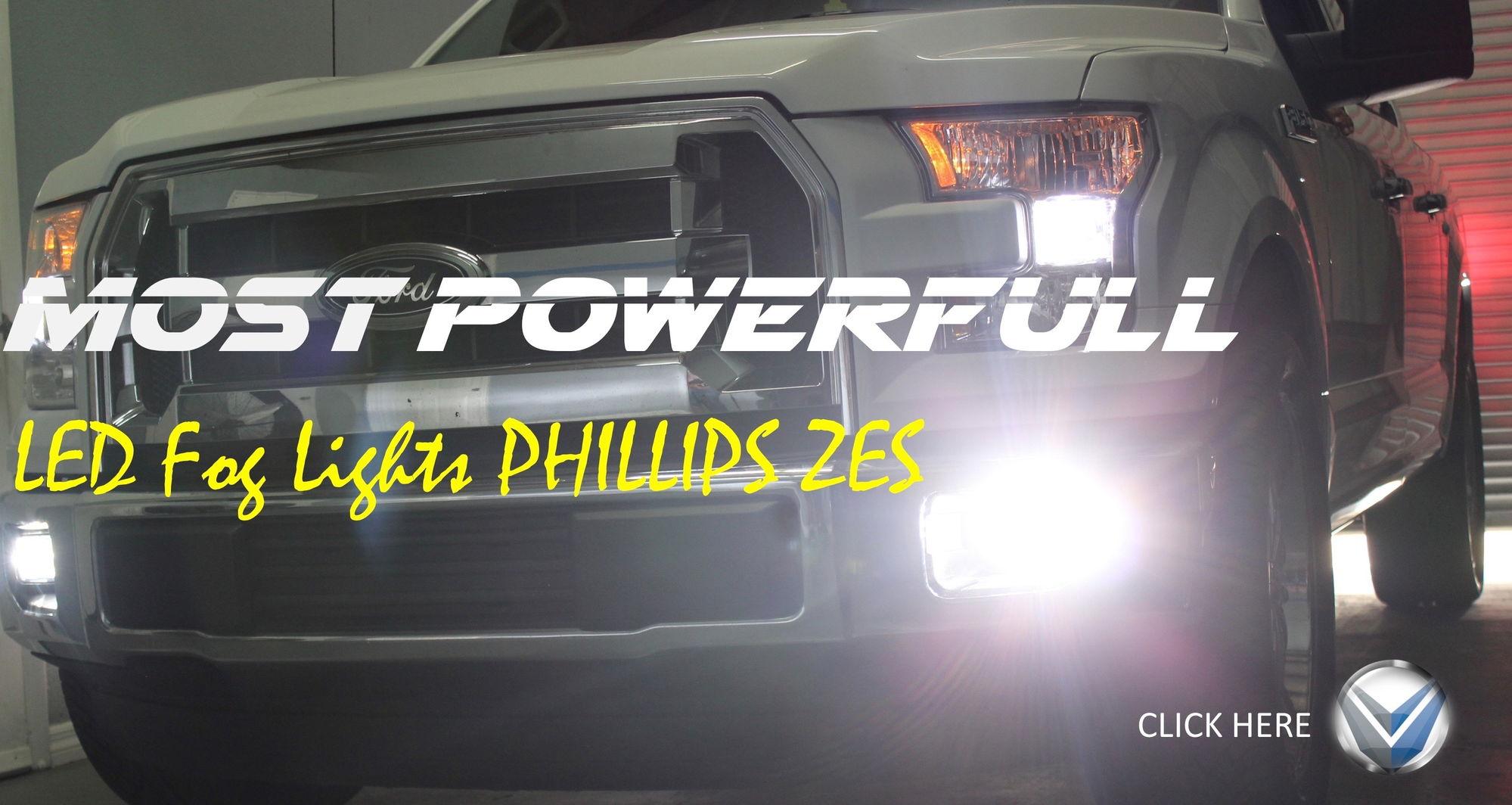 2015 ford f150 fog lights