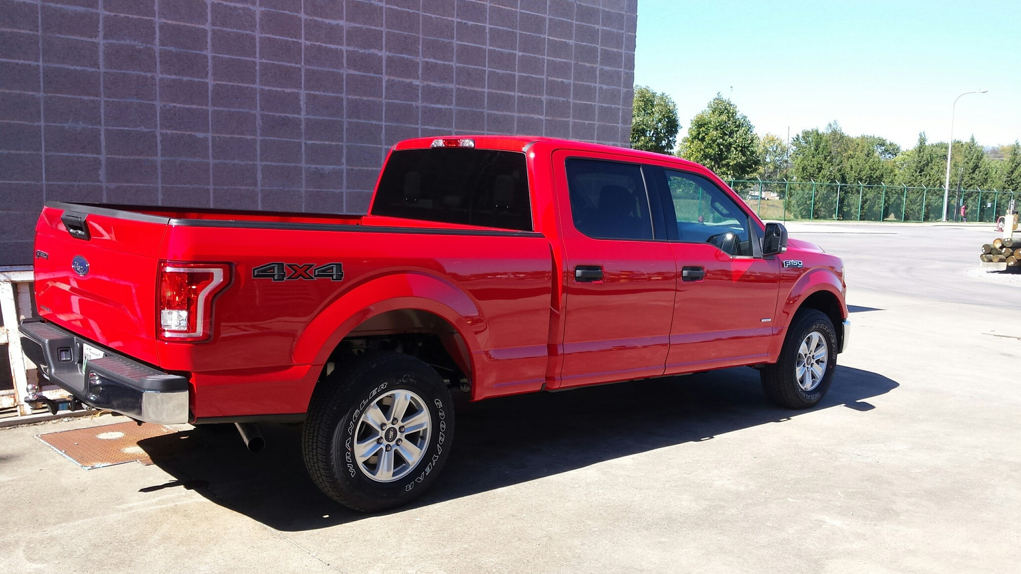 New 2015 Coasting Vibration/ Over Spray Pics - Ford F150