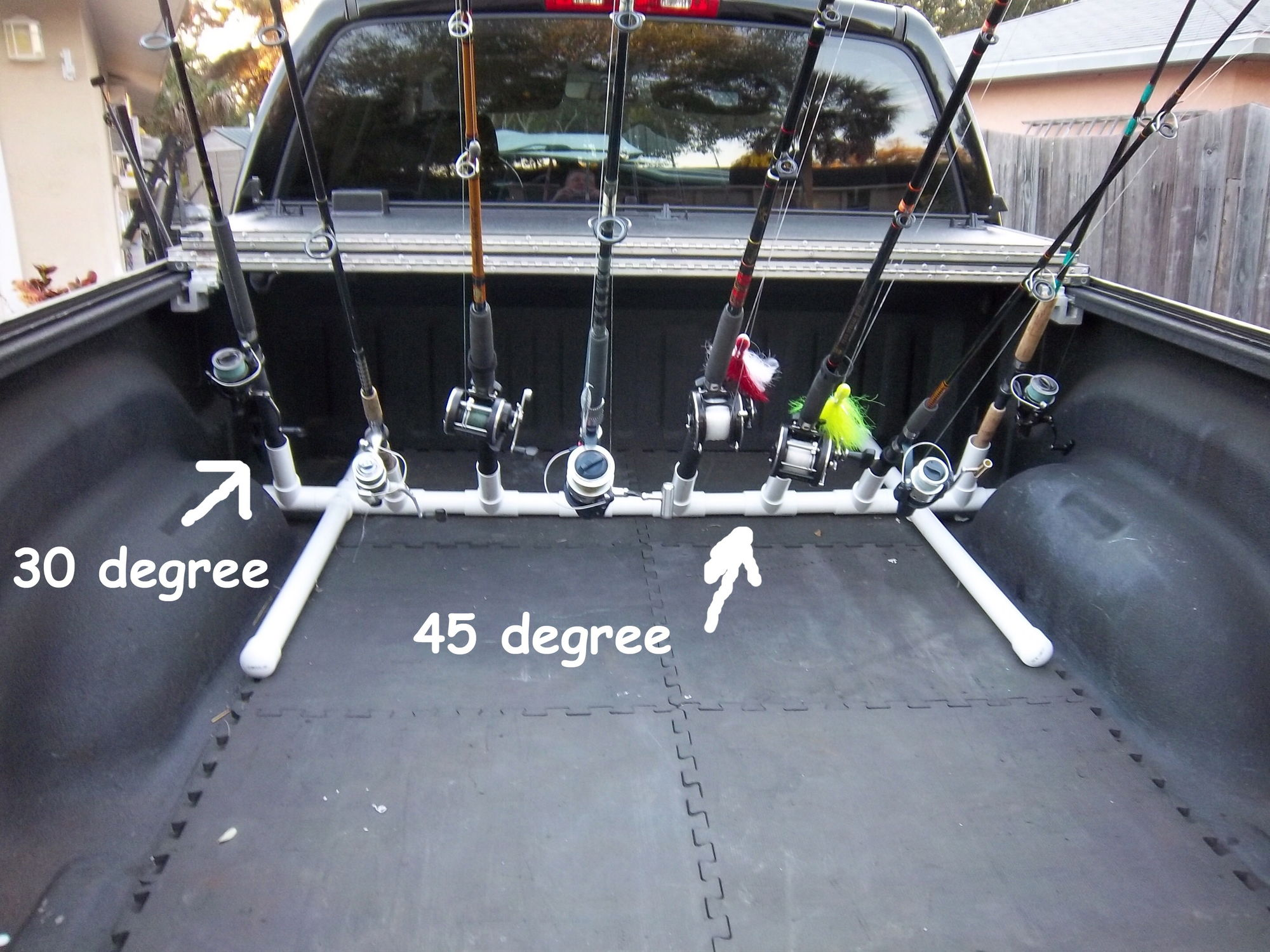 Fishing Pole Holder For Truck Bed 28 Images Diy Truck Bed Toolbox Storage Decorations Diy