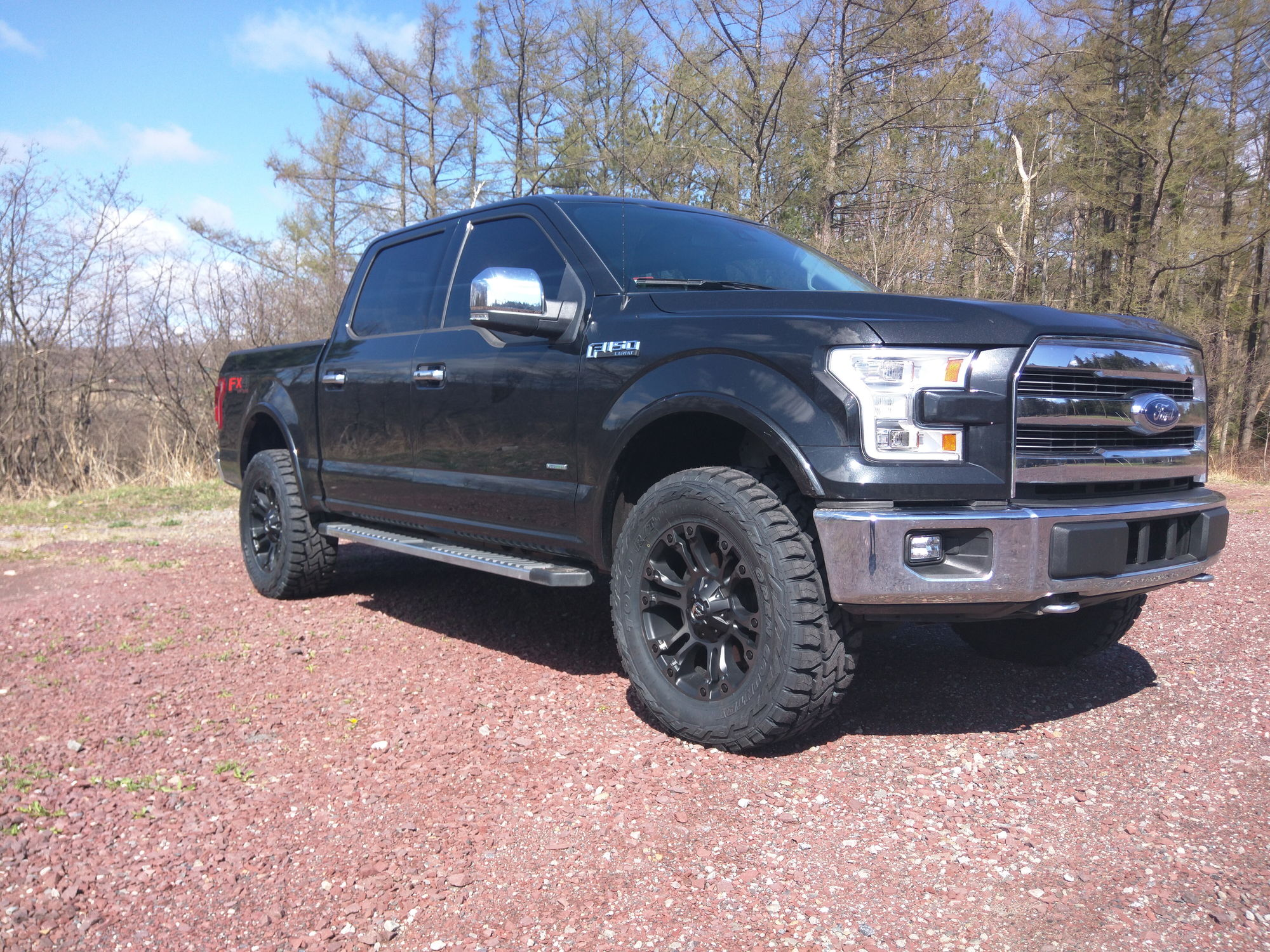 New shoes! Fuel Vapor Toyo RT - Ford F150 Forum ...