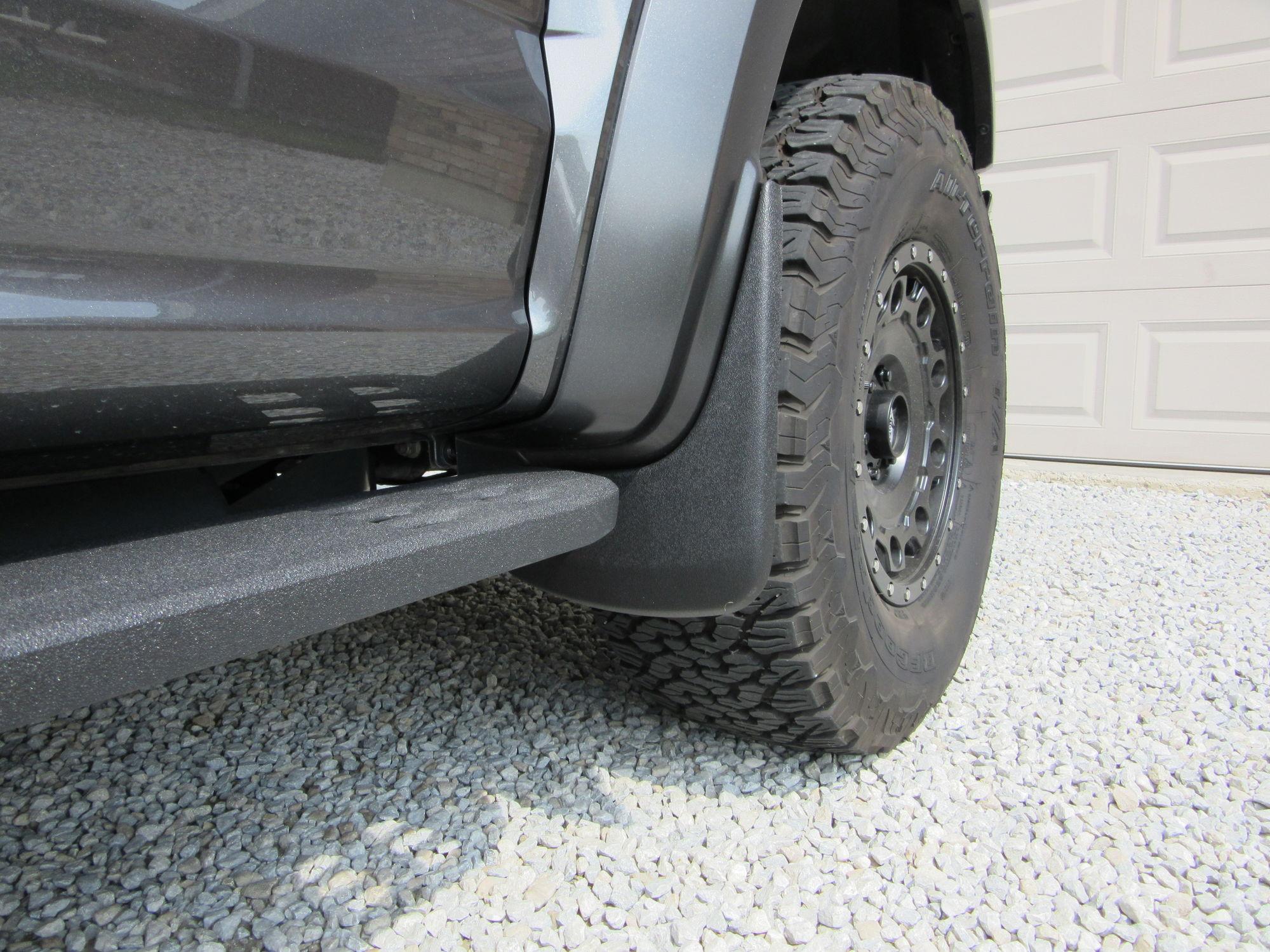 GEN 2 Mudflaps for rocks FORD RAPTOR FORUM Ford SVT Raptor