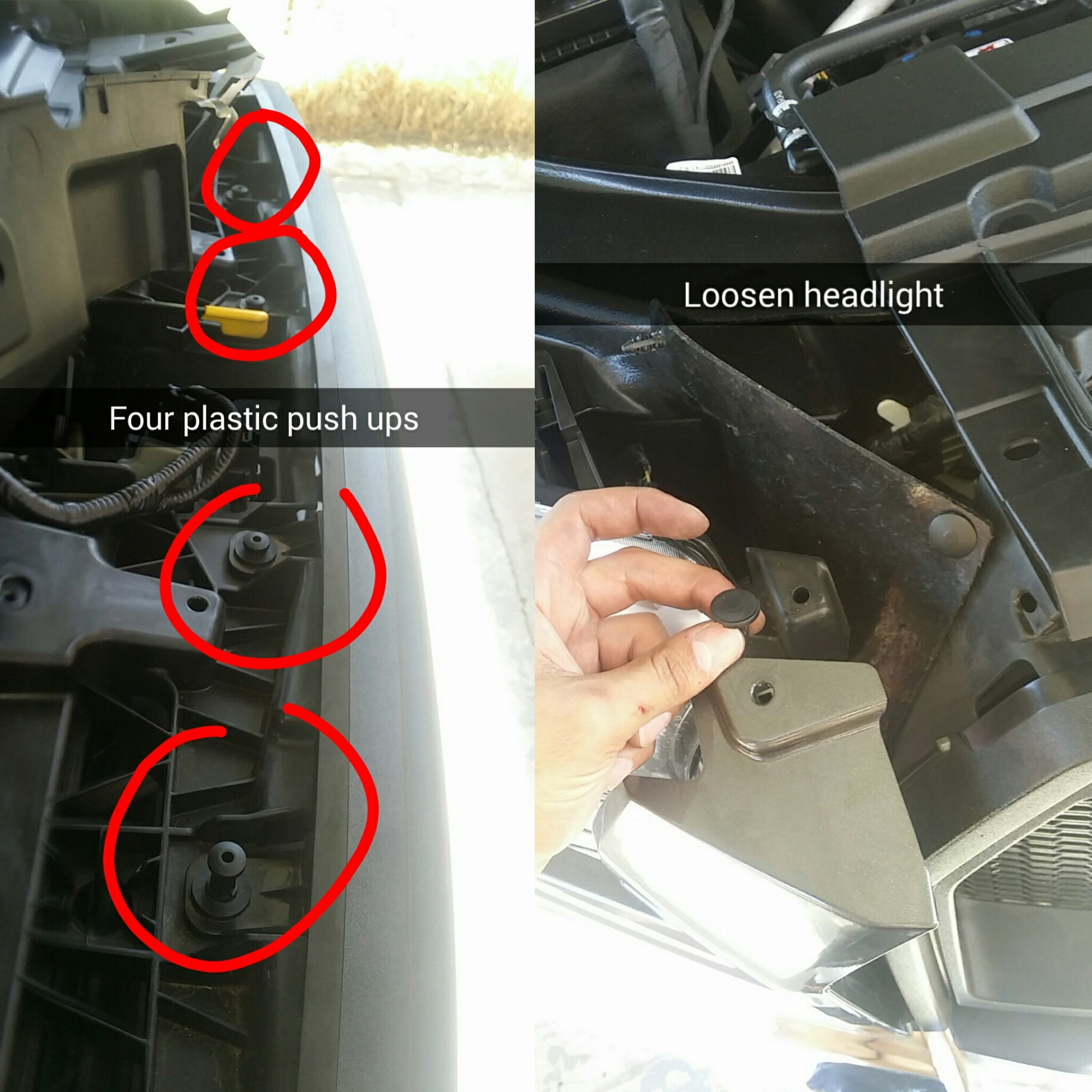 removing grill (pics pics pics) - Ford F150 Forum