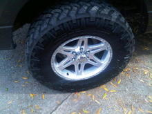 """Wheel and Tires Image  Nitto Trail Grapps on 18"""" pacers"""