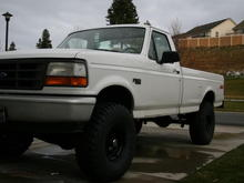 Dad's 94 F150 XL 4x4