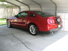2011 Mustang. Little Red.
