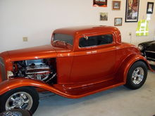 Our 32 Ford Three Window