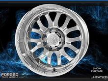 Heathen wheel in Chrome finish