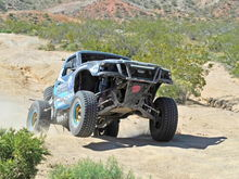 #1466 Ford Ranger with PM Truck Race Gold Forge Beadlock Wheels won 1st place at the SNORE Motion Tire 300 in Ridgecrest, CA.