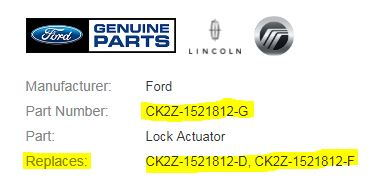 2015+ Frozen door latch TSB/ Recall - Page 49 - Ford F150