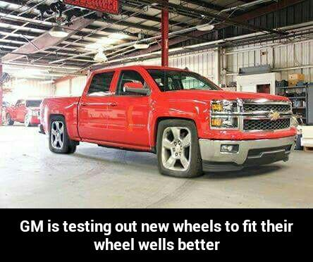 Changes To Chevy Gmq Square Wheel Wells Ford F150 Forum