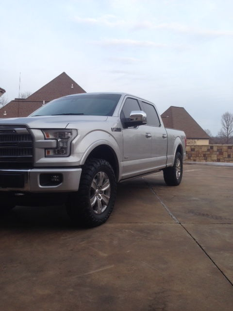 2015 F150 Leveling Kit >> 2.5 Inch Leveling Kit with 35 inch toyo mts? - Page 2 - Ford F150 Forum - Community of Ford ...