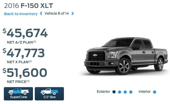 Is The A Z Pin Price The Dealer S Invoice Price Ford F150 Forum Community Of Ford Truck Fans