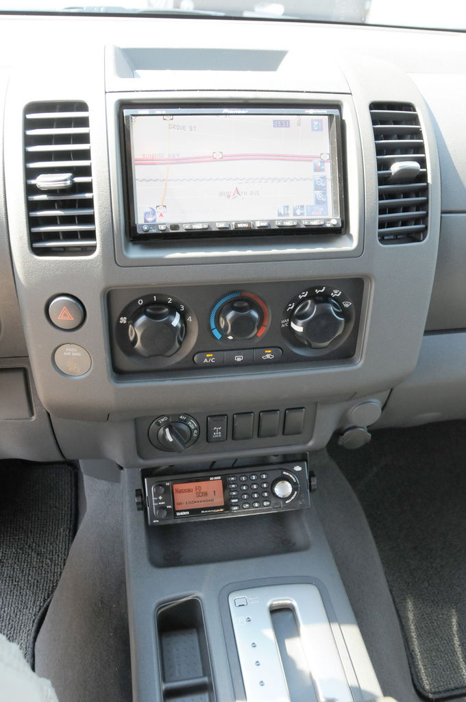 2015 Cb Radio Mounting Solution Without Center Console