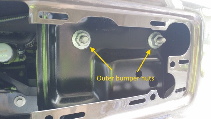How To 2015 F 150 Front Bumper Tow Hook Removal Ford