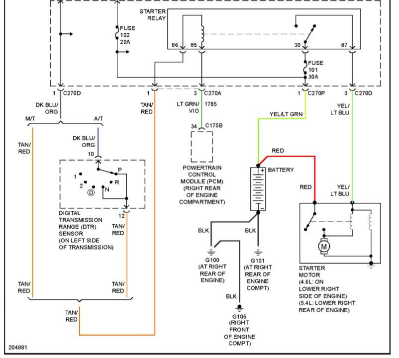 Ford F150 Solenoid Wiring – name F Solenoid Relay Wiring on