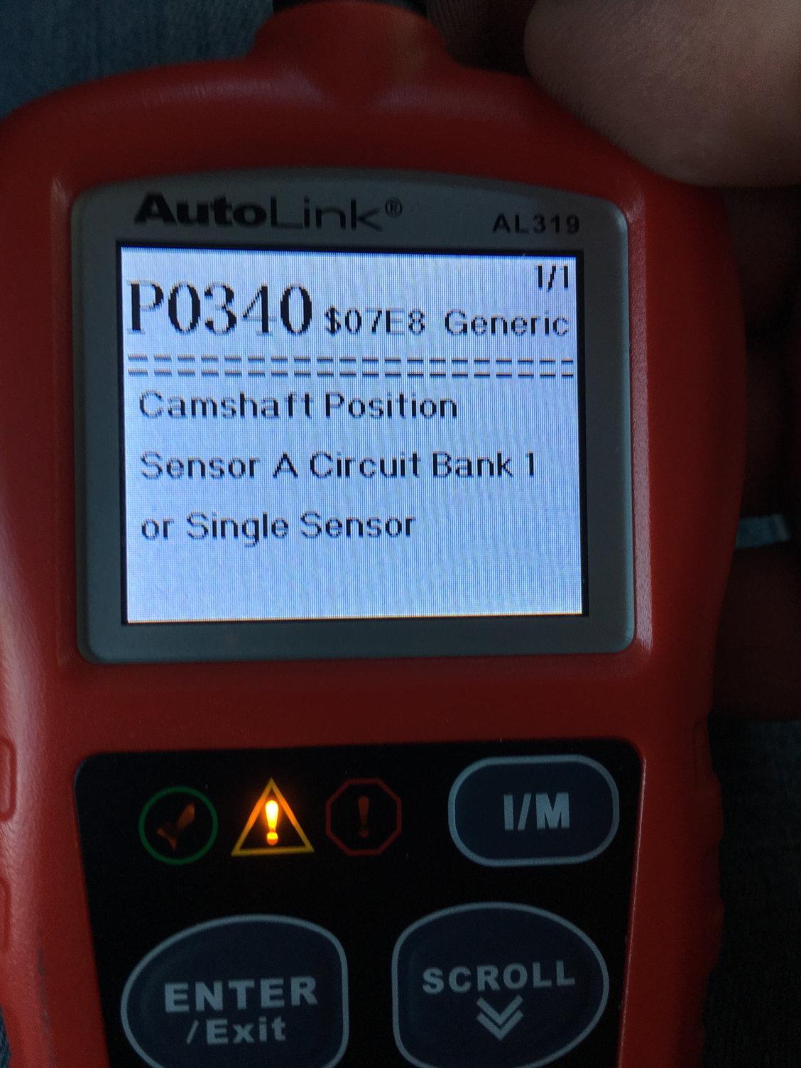 p0012 intake camshaft position timing - over-retarded (bank 1)