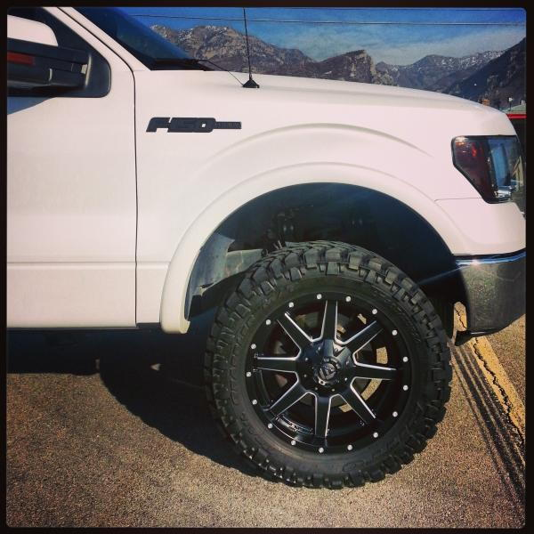 Fuel Wheels 20x9 >> New 20x9 Fuel Maverick Wheels What Do You Think