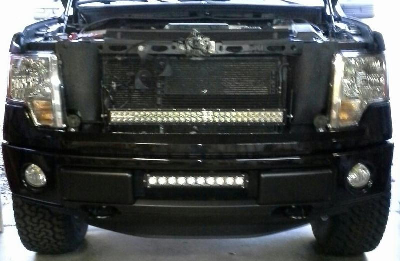 Rigid Industries Or Similar Led Light Bar Under Grille