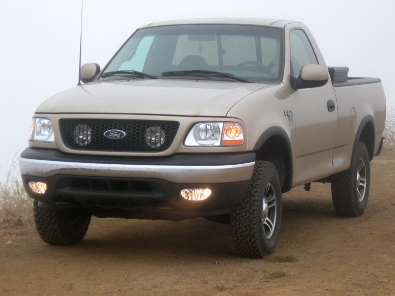 How to add factory fogs to a '99 F-150 XL - F150online Forums  F Headlight Switch Wiring Diagram on