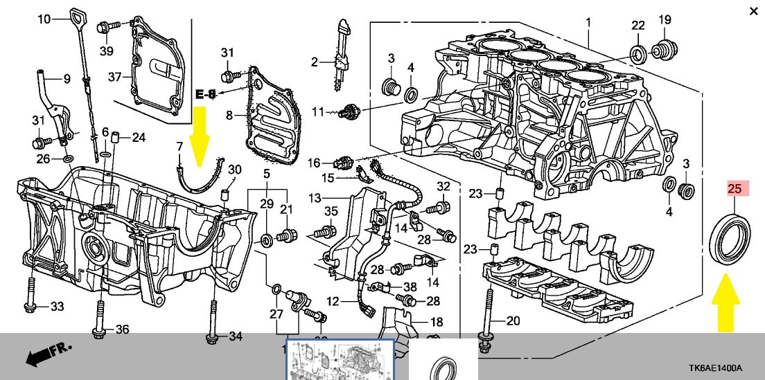 Engine Oil Leak Unofficial Honda Fit Forums
