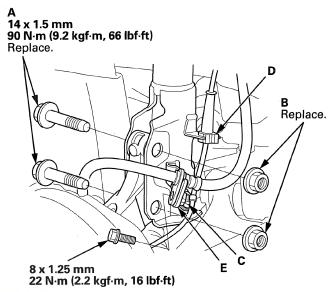 broken valve cover bolts replacement unofficial honda fit forums Broken Exhaust Manifold Stud the front strut
