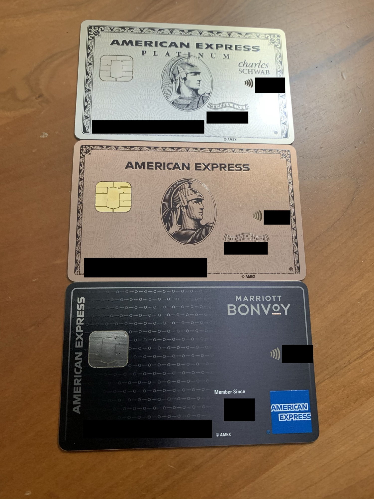 American Express personal Platinum (USA) metal card - Page