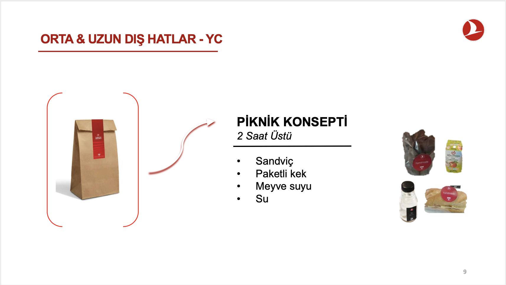 Turkish Airlines Economy Class Medium Haul Snack Bag