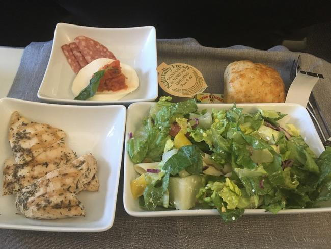 Combined 2019 Aa Domestic Meal Meals Menu Photos
