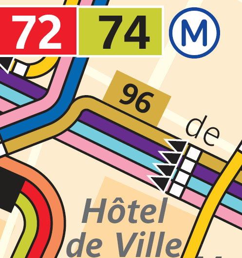 New Bus Routes in Paris -- Is There a Full Map with Streets