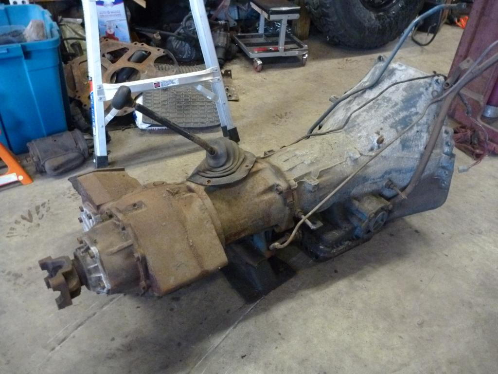 1979 Ford 4x4 C6 transmission w/SHIFT KIT, STALL CONVERTER ...