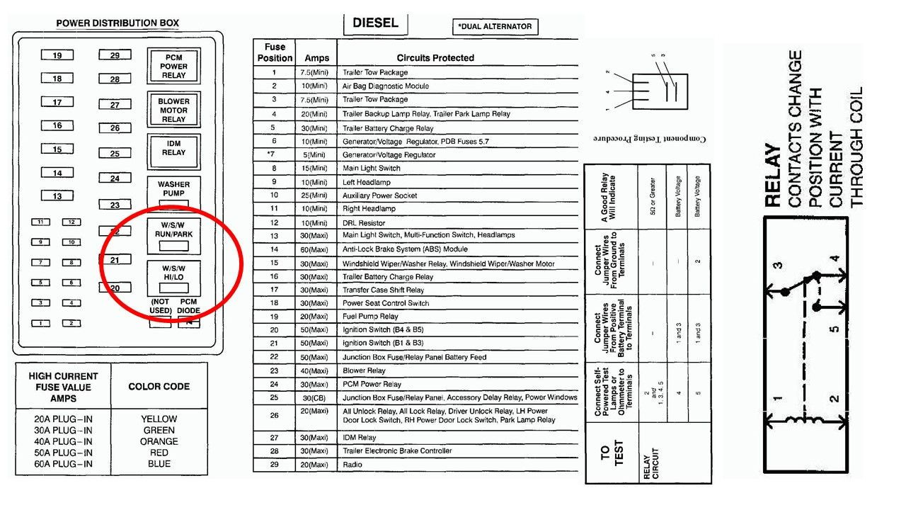 89e8de8 Fuse Box Diagram 99 F150 Triton Wiring Resources