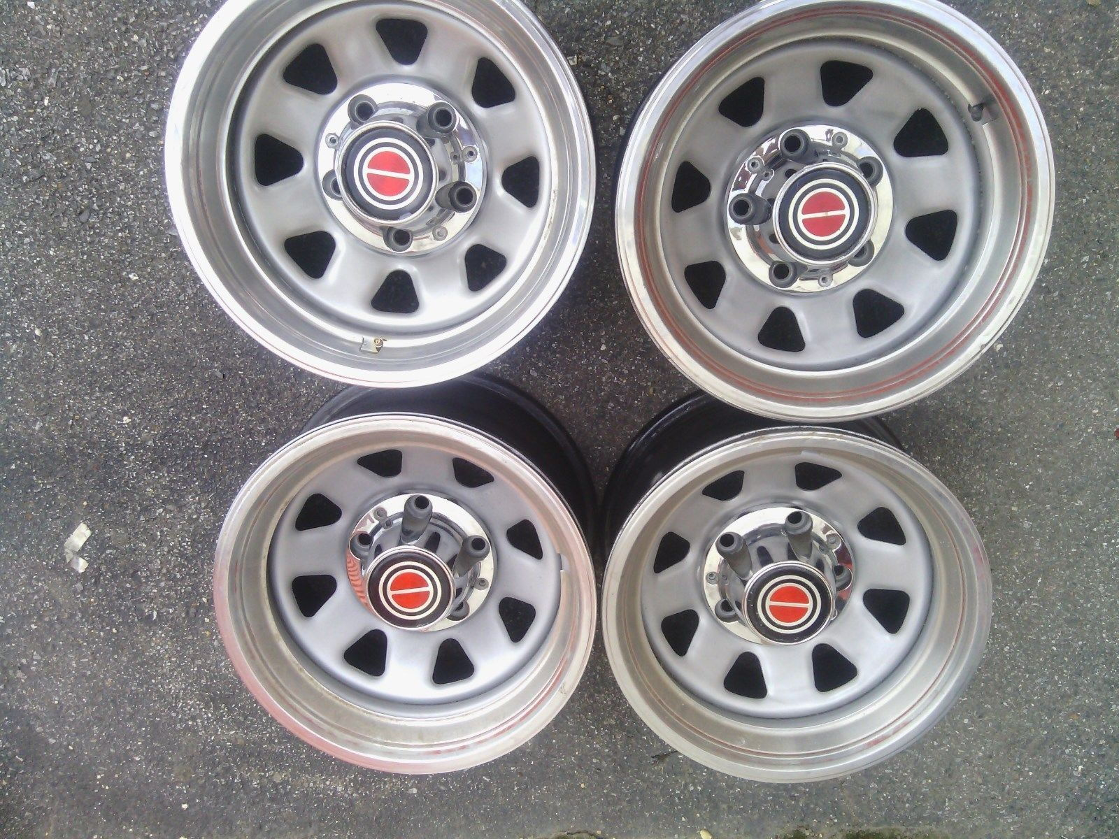 Ford f150 bronco rally wheels 15 x 8 w trim rings center caps ford truck enthusiasts forums