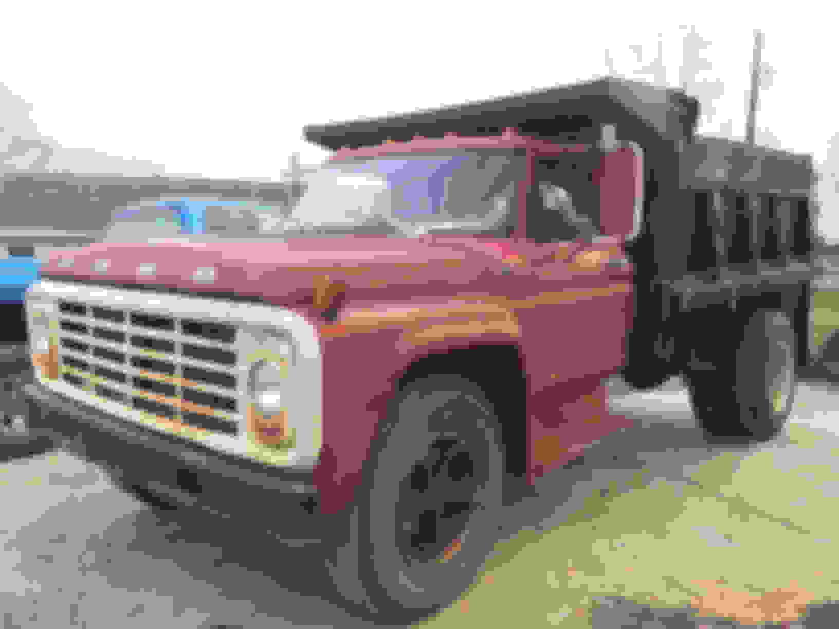 1975 Ford F600 Dump Truck Specs - Best Image Truck Kusaboshi Com