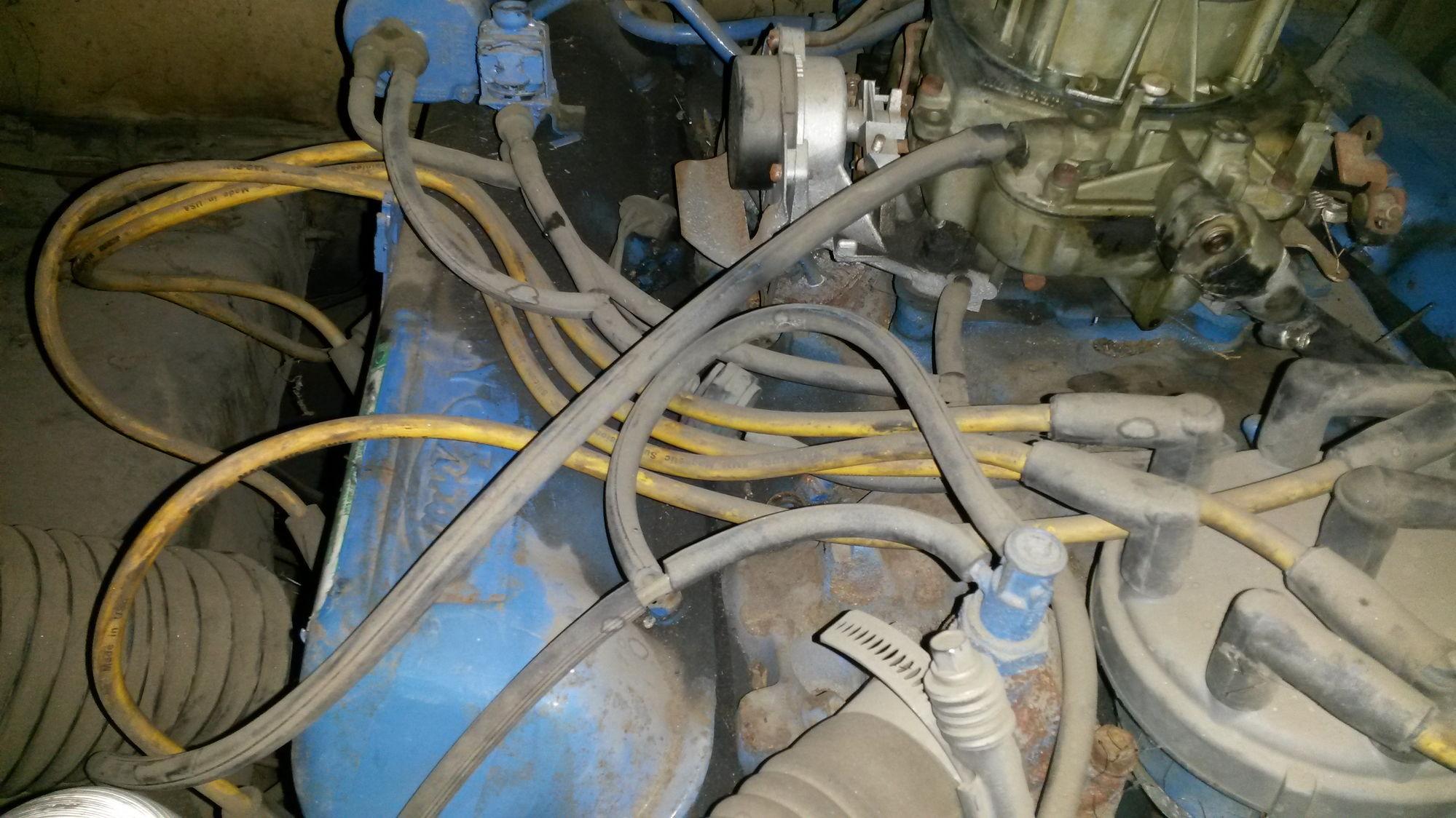 77 F350 460 California Vacuum Line Diagram