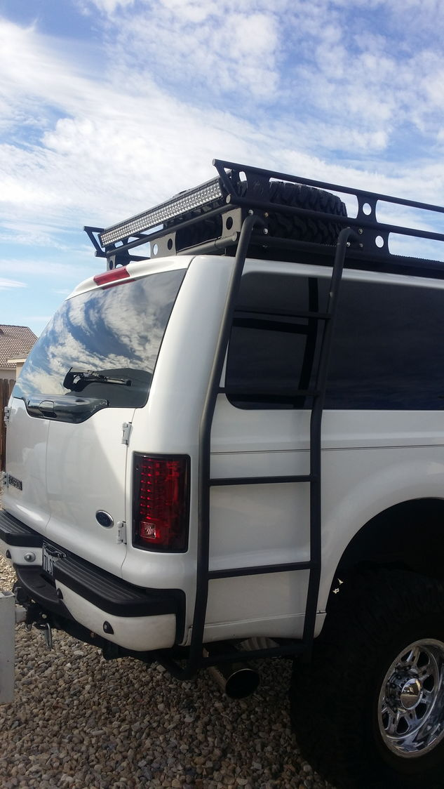 Ford Excursion 2015 >> Excursion tailgate spare tire rack? - Page 8 - Ford Truck Enthusiasts Forums