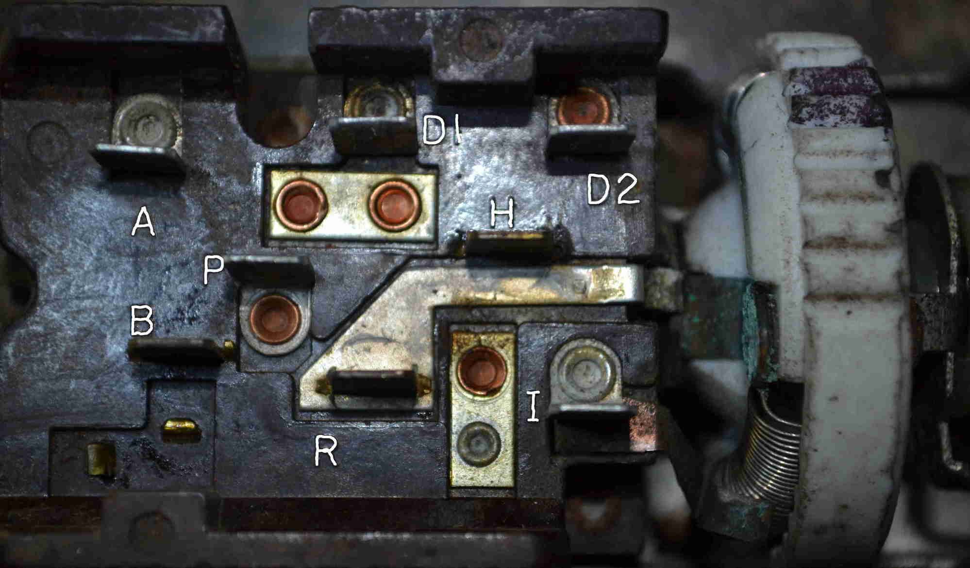 1965 headlight switch wiring