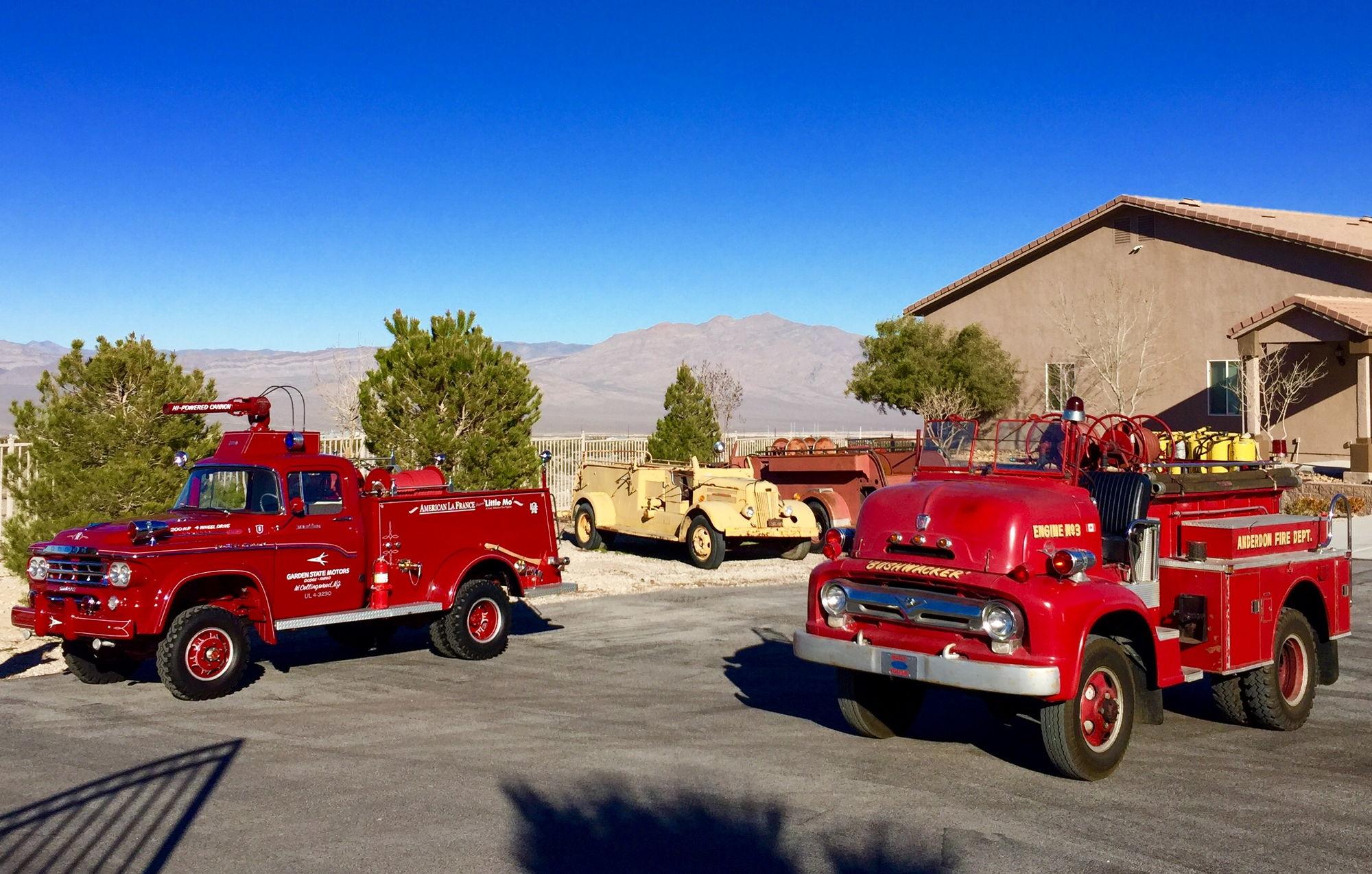 1956 Ford Fire Truck : Coe marmon herrington open cab fire truck resto link