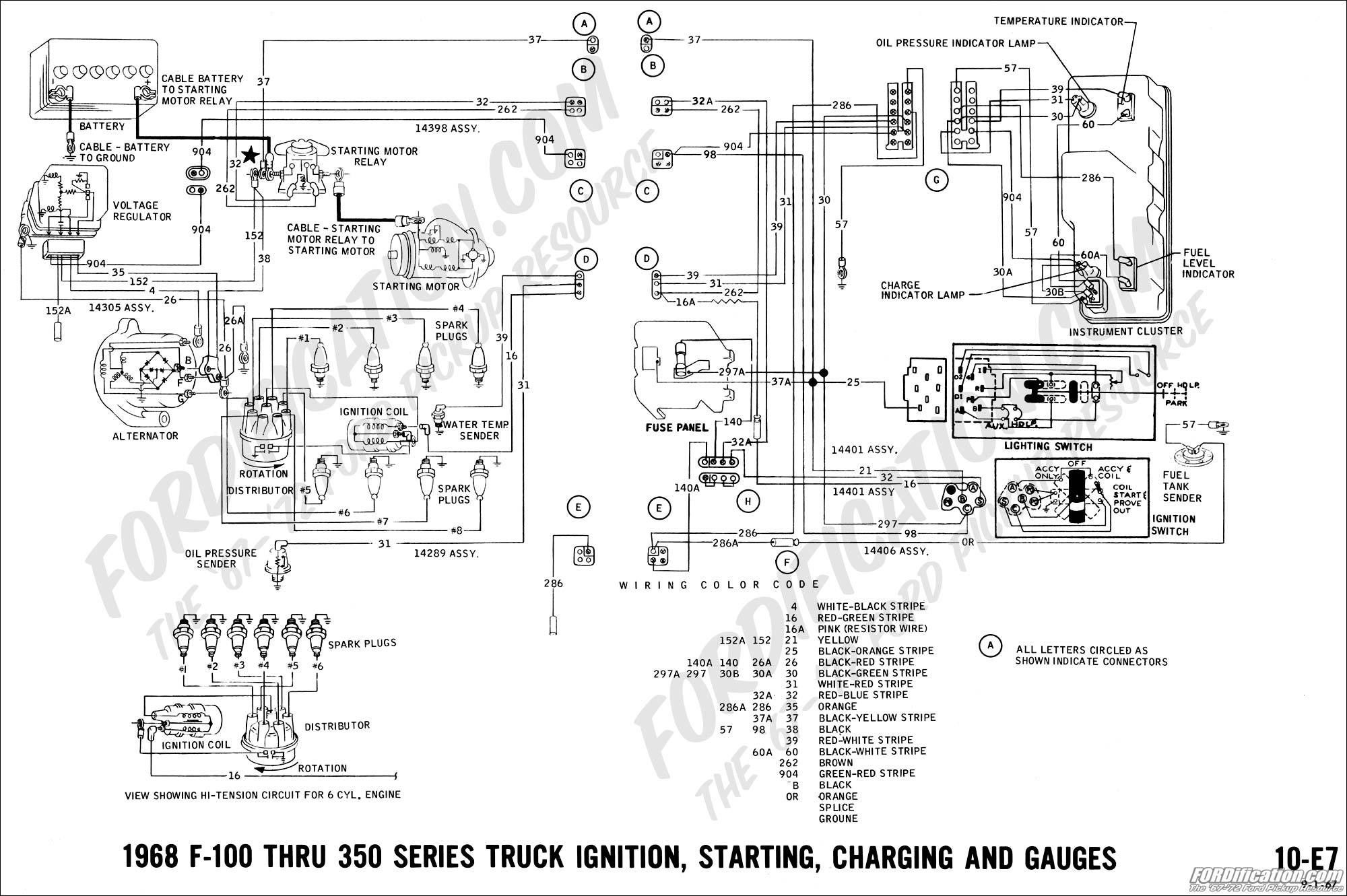 alternator wiring a mess ford truck enthusiasts forums. Black Bedroom Furniture Sets. Home Design Ideas