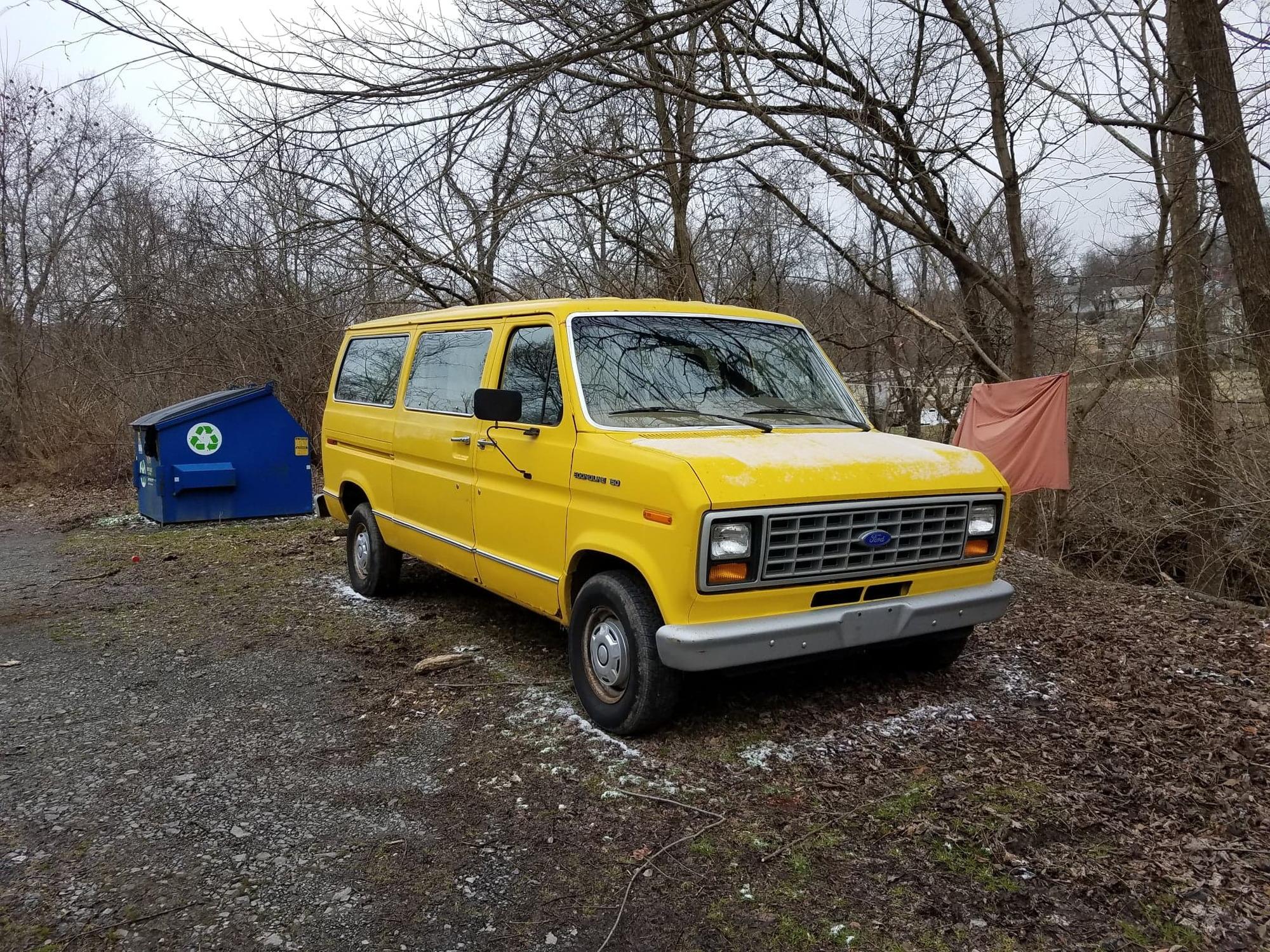 auction winner   econoline  cargo van