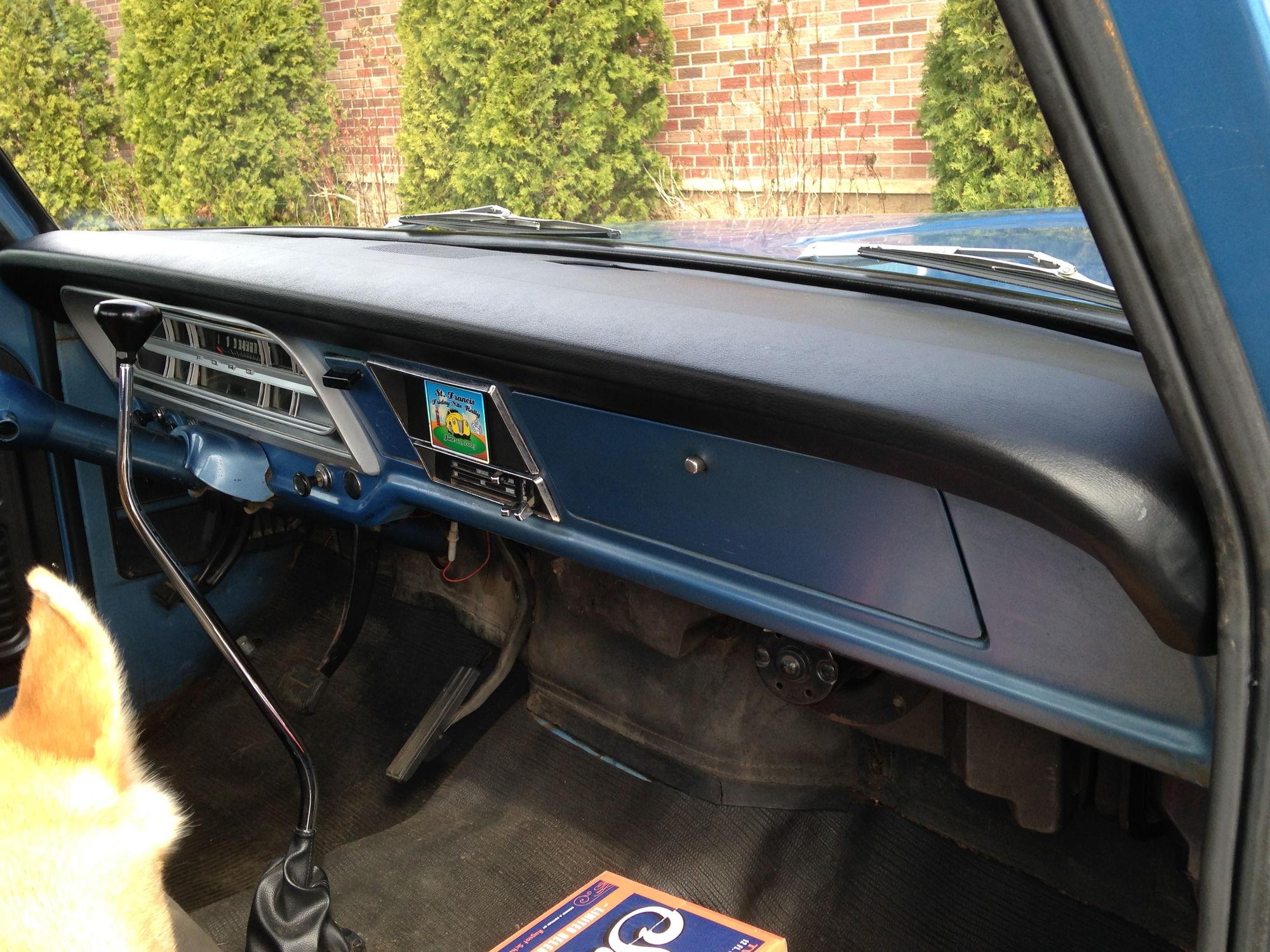 1986 Ford F150 Dash Pad 198086 Truck Vinyl Pads F 150