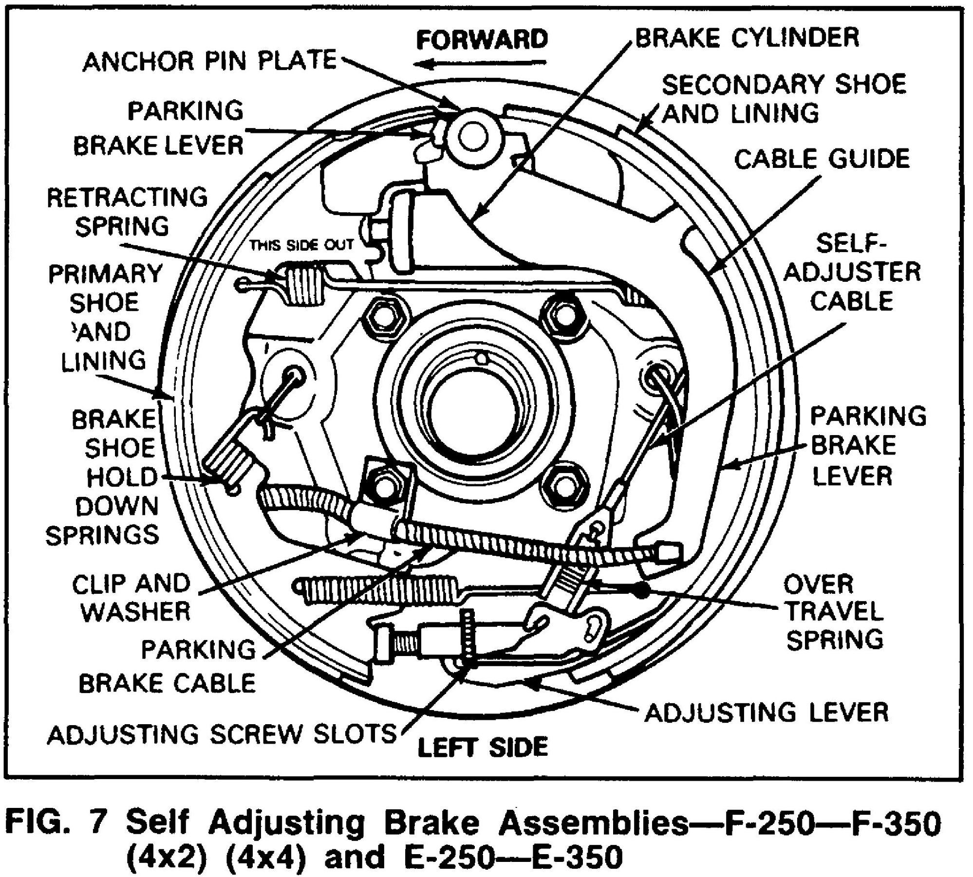 Brake parts question. What am I missing? - Ford Truck ...