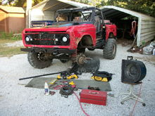 Its always some thing...trac bar bolt...