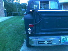 new tail lights left