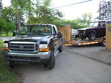 99 F250SD tow rig V10 auto