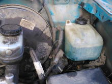 here,s something for you ford owners who own older fords. not sure if anyone has come across this problem yet. but i had trouble with the original windshield washer motor. come to discover that the motor is completely submersed in washer fluid. this in my mind is a poor design. so i got another washer bottle with the motor outside the bottle and haven,t had a problem since. something to think about.